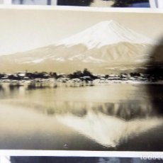 Fotografía antigua: ANTIGUA FOTOGRAFIA. MONTE FUJI JAPON, ABRIL 1938. 10 X 7 CM W. Lote 104273847
