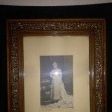 Fotografía antigua: INFANTA ISABEL DE BORBON, CON DEDICATORIA A SATURNINO GALACHE,CIUDAD RODRIGO 22 JULIO 1.916.. Lote 104561947