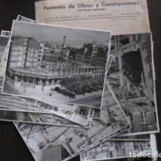 Fotografía antigua: INSTITUTO NACIONAL DE PREVISION-BARCELONA- LOTE 26 FOTOGRAFIAS- FOMENTO OBRAS -VER FOTOS- (V-12.801). Lote 104639323