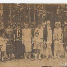 Fotografía antigua: FOTO DE FAMILIA. 1925. Lote 104774251