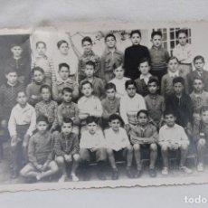 Fotografía antigua: FOTOGRAFIA ALUMNOS ESCUELA EN MURCIA 1931 O 1935. Lote 105417179