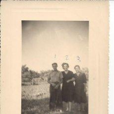 Fotografía antigua: FOTO FAMILIA AÑOS 40. Lote 105799031