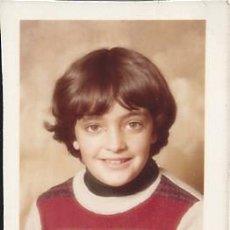 Fotografía antigua: FOTO CARNET NIÑO AÑOS 70. Lote 105800131