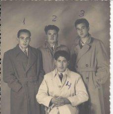 Fotografía antigua: FOTO AMIGOS AÑOS 40. FOTO GARUZ DE GRAUS ( HUESCA). Lote 105800235