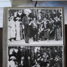 Fotografía antigua: ALBUM FOTOGRAFICO EXCLUSIVO MUNDIAL EMBAJADOR HOLANDES Y SULTAN SURAKARTA 1936. Lote 106753243