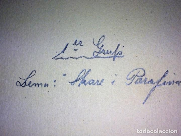 Fotografía antigua: SKARE Y PARAFINA. FOTOGRAFÍAS DE ESQUIADORES. ESPAÑA. CIRCA 1940 - Foto 4 - 107210967