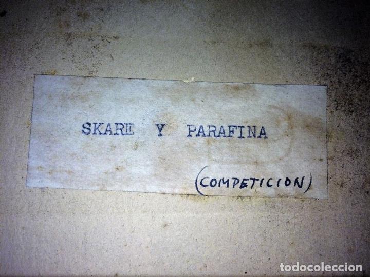 Fotografía antigua: SKARE Y PARAFINA. FOTOGRAFÍAS DE ESQUIADORES. ESPAÑA. CIRCA 1940 - Foto 5 - 107210967