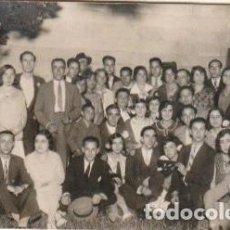 Fotografía antigua: FOTOGRAFIA BUEN GRUPO -C-52. Lote 107278087