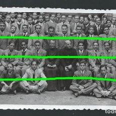 Fotografía antigua: EJERCICIOS ESPIRITUALES EN LOS JERÓNIMOS. MURCIA. D.JUAN LUÍS BERMEJO. BO. Lote 107747075