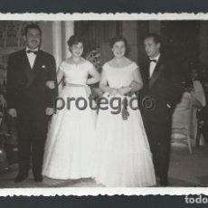 Fotografía antigua: NOCHEVIEJA. 1 ENERO 1953. CASINO DE MURCIA. FOTOS SUÁREZ. MURCIA. BO. Lote 107851987