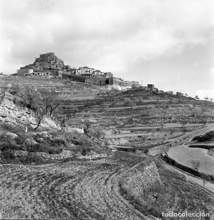 FORCALL (VALENCIA, ELS PORTS). 3 NEGATIVOS 56X56MM DE ALTA CALIDAD. AÑOS 1960S (Fotografía - Artística)