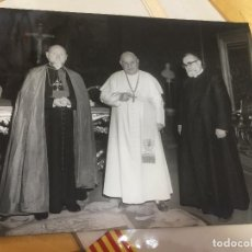 Fotografía antigua: FOTOGRAFÍA ORIGINAL DEL PAPA JUAN XXIII. ROMA. 25CM APROX. ROMA. FOTOGRAFIA PONTIFICA. Lote 108429767