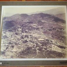 Fotografía antigua: FOTOGRAFIA AEREA PAISAJES ESPAÑOLES Nº 357545 - GRAN FORMATO 30 X 38 CM. Lote 108846439