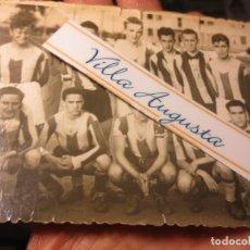 Fotografía antigua: FOTO ANTIGUA EQUIPÒ FUNDADOR FUTBOL PELAYO DE GIJON 1947 CAMPO TEATINOS OVIEDO. Lote 109008135