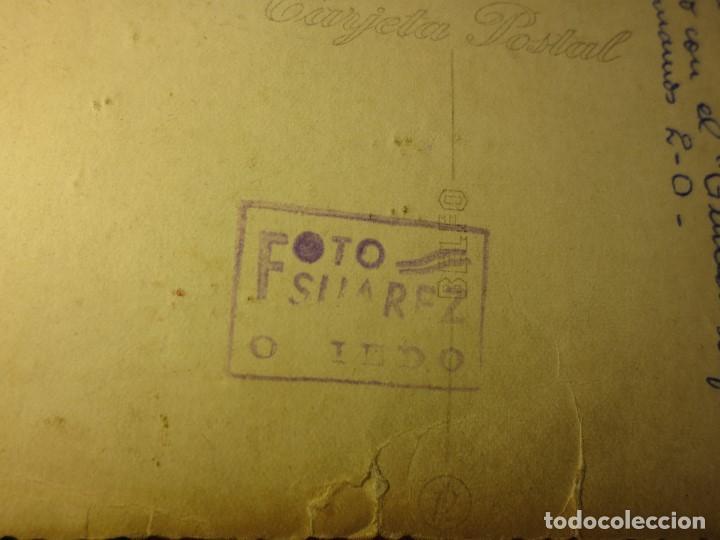 Fotografía antigua: FOTO ANTIGUA EQUIPÒ FUNDADOR FUTBOL PELAYO DE GIJON 1947 CAMPO TEATINOS OVIEDO - Foto 4 - 109008135