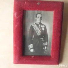 Fotografía antigua: FOTOGRAFIA ORIGINAL D. ALFONSO XIII FINALES SIGLO XIX. Lote 109077843