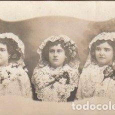 Fotografía antigua: FOTOGRAFIA TRES BELLAS SEÑORITAS - -C-32. Lote 109079383