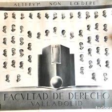 Fotografía antigua: ORLA FACULTAD DE DERECHO DE VALLADOLID. PROMOCIÓN 1931-1935. GARAY. Lote 109123399