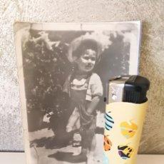 Fotografía antigua: ANTIGUO FOTOMONTAJE EROTICO EL NIÑO DEL BADAJO. Lote 109270915