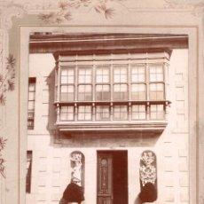 Fotografía antigua: FOTOGRAFÍA VILLA DE COLOMBRES RIBADEDEVA. ASTURIAS.16 X 22,5CM SOLO FOTOGRAFÍA. Lote 110150531
