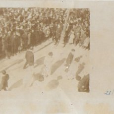 Fotografía antigua: F- 3562. FOTOGRAFIA ORIGINAL ESBART DANSAIRE AMATARO. 1909-1910.. Lote 110185607