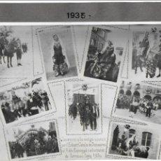 Fotografía antigua: F- 3566. FOTOGRAFIA MUNTATGE FOTOGRAFIC ANY 1930.. Lote 110191239