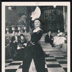 Fotografía antigua: FOTOGRAFÍA ORIGINAL DE 1948 DE RITA HAYWORTH EN LA PELÍCULA LOS AMORES DE CARMEN,CON CUÑO EN REVERSO. Lote 110205467