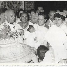 Fotografía antigua: == AD967 - FOTOGRAFIA - BAUTIZO - FOTO EMILIO POVEDA - VALENCIA 1959. Lote 110409071
