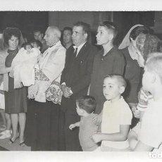 Fotografía antigua: == AD968 - FOTOGRAFIA - BAUTIZO - FOTO EMILIO POVEDA - VALENCIA 1962. Lote 110409175