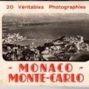 Fotografía antigua: MÓNACO - 3 ÁLBUMES DE FOTOGRAFÍAS AÑOS 1950-1960. Lote 110521343