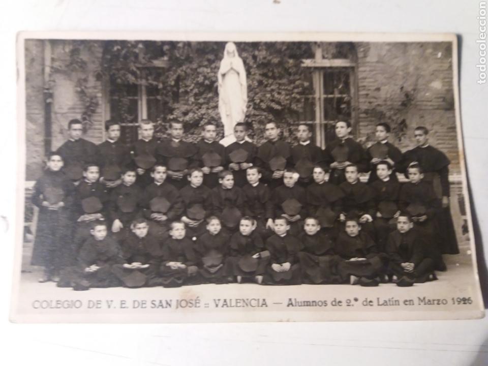 COLEGIO DE V.E.DE SAN JOSÉ VALENCIA 1926 (Fotografía - Artística)