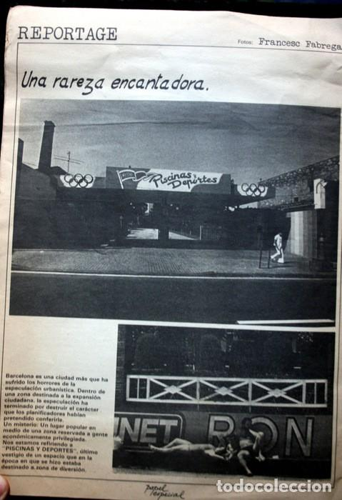 Fotografía antigua: PAPEL ESPECIAL - BOLETIN GRAFICO Nº 0 - 1978 - Revista Fotografía - 1978 - Jaume Sans - Pete - RARA - Foto 2 - 111570699