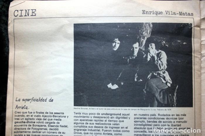 Fotografía antigua: PAPEL ESPECIAL - BOLETIN GRAFICO Nº 0 - 1978 - Revista Fotografía - 1978 - Jaume Sans - Pete - RARA - Foto 3 - 111570699