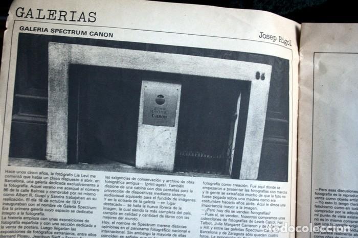 Fotografía antigua: PAPEL ESPECIAL - BOLETIN GRAFICO Nº 0 - 1978 - Revista Fotografía - 1978 - Jaume Sans - Pete - RARA - Foto 12 - 111570699