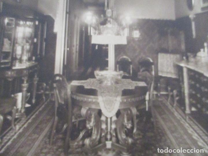 Fotografía antigua: Antigua Fotografía - Fotógrafo Gamisans - Comedor de Época, Decoración - Años 40-50 - Foto 2 - 111693495