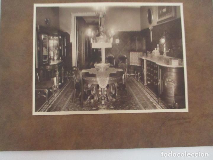 Fotografía antigua: Antigua Fotografía - Fotógrafo Gamisans - Comedor de Época, Decoración - Años 40-50 - Foto 6 - 111693495