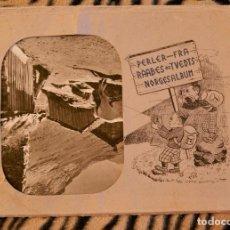 Fotografía antigua: CARPETA 15 FOTOS ANTIGUAS NORUEGA BLANCO Y NEGRO. Lote 111892895