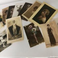 Fotografía antigua: LOTE 13 POSTALES Y FOTOS ORIGINALES DE LA ARTISTA «LA BILBAINITA» Y+ ALGUNAS CIRCULADAS.LEER TEXTO .. Lote 112003075