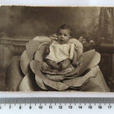 Fotografía antigua: FOTO. BEBE. FOT. J. LLOPIS. VALENCIA. H. 1920?. Lote 112134508