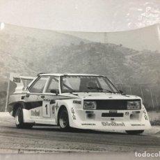 Fotografía antigua: FOTO FIAT 131 ABARTH GR. 5 CAÑELLAS CPTO ESPAÑA JARAMA 1980. Lote 198129636