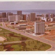 Fotografia antiga: == MM131 - FOTOGRAFIA - BRASILIA - JARDINES SECTORES HOTELERO Y COMERCIAL - 1969. Lote 112732895
