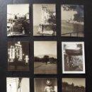 Fotografía antigua: 9 FOTOGRAFÍAS DE TRIESTE, ITALIA, AÑOS 50, TAMAÑO 6,5 X 9,5 CM. Lote 112902067