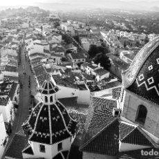 Fotografía antigua: DESDE LO ALTO VIRGILI BCN 1965. COPIA FOTOGRÁFICA ORIGINAL NUMERADA Y FIRMADA POR EL AUTOR. Lote 44404455