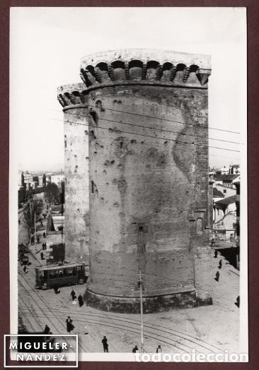 ANTIGUA FOTOGRAFÍA TORRES DE QUART, VALENCIA. COPIA VINTAGE 12 X 17,5 CM. CA. 1960 (Fotografía - Artística)
