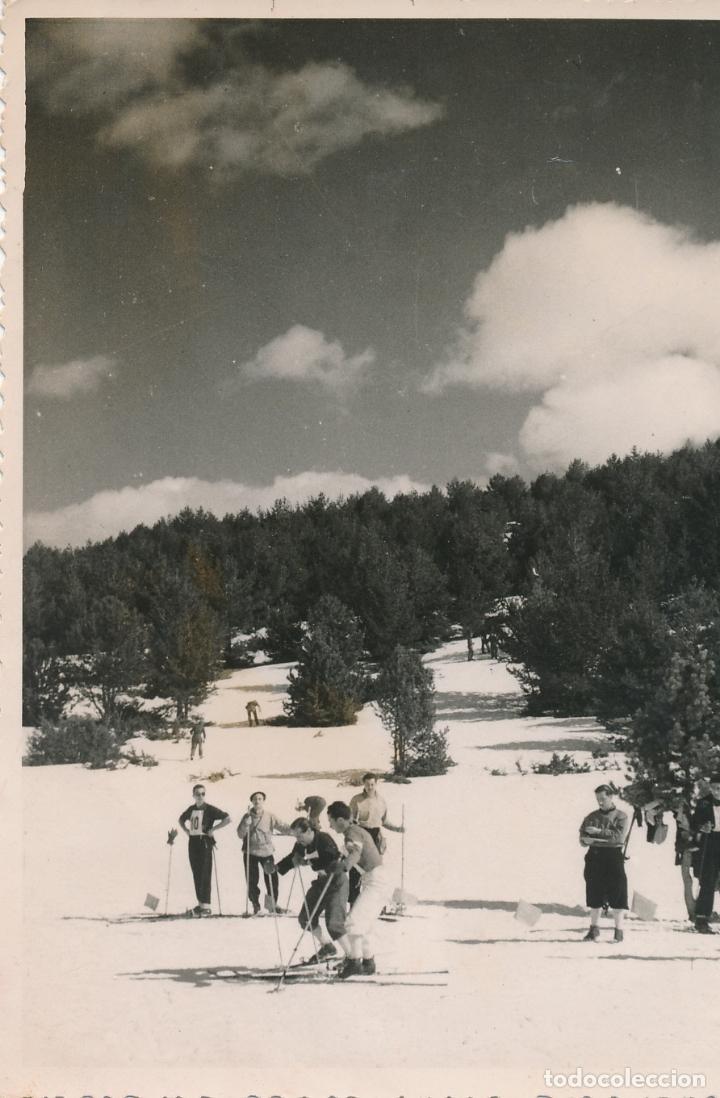 FOTOGRAFÍA TARRAGONA, CAMPEONATO NACIONAL DE ESQUÍ 1955 1957? FOTO MUTGÉ BARCELONA (Fotografía - Artística)