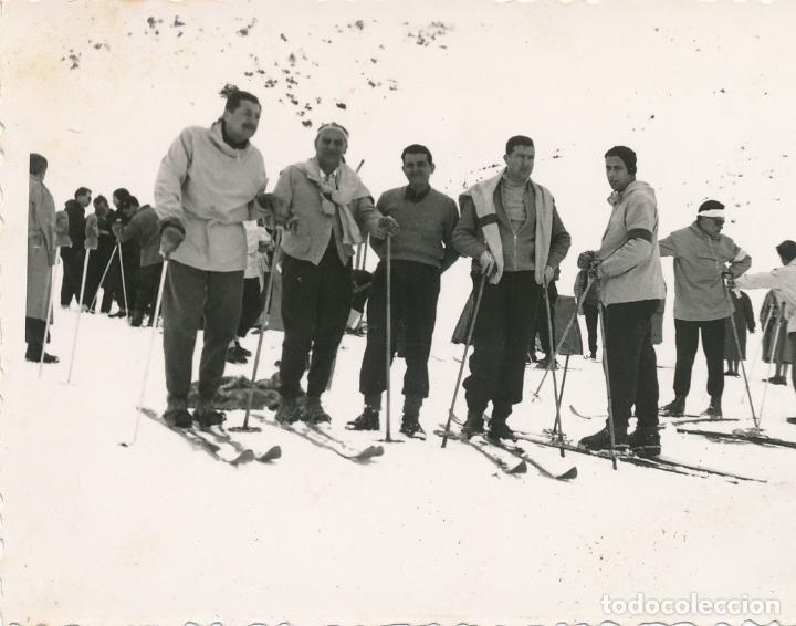 FOTOGRAFÍA TARRAGONA, CAMPEONATO NACIONAL DE ESQUÍ 1955 1957? OBRA SINDICAL EDUCACIÓN Y DESCANSO (Fotografía - Artística)