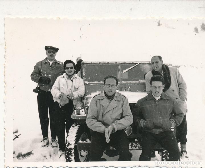 FOTOGRAFÍA TARRAGONA, CAMPEONATO NACIONAL DE ESQUÍ 1955 1957? HUMMER (Fotografía - Artística)