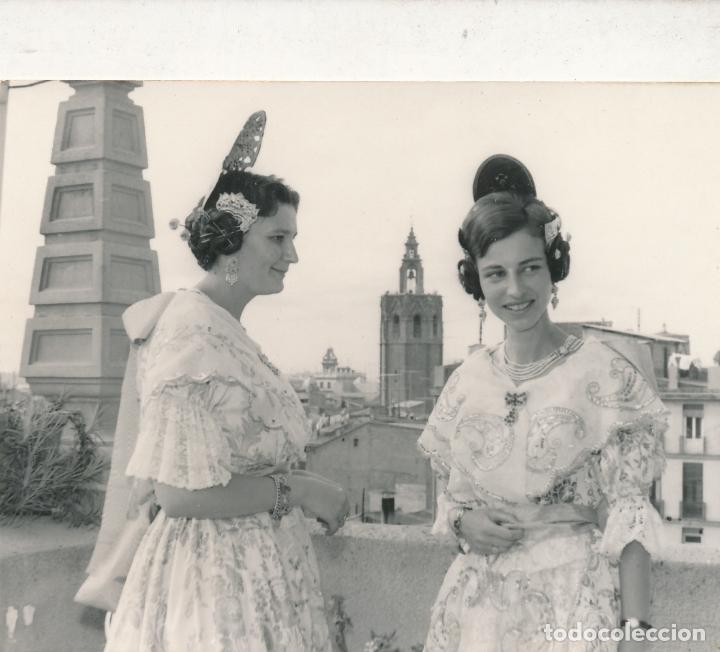 FOTOGRAFÍA VALENCIA 1966 FALLAS FALLERA MIGUELETE (Fotografía - Artística)