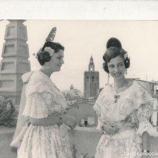 Fotografía antigua: FOTOGRAFÍA VALENCIA 1966 FALLAS FALLERA MIGUELETE. Lote 150849836