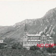 Fotografía antigua: FOTOGRAFÍA ANTIGUA COVADONGA ASTURIAS 1958. Lote 114217211